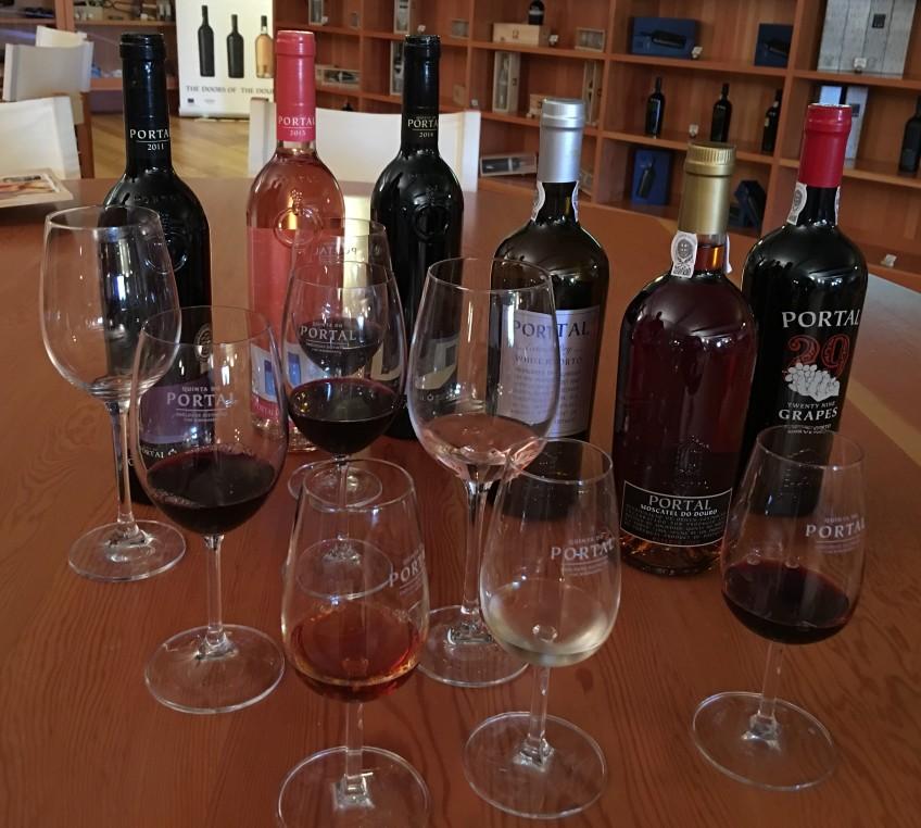 Wine and Port Tasting